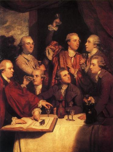 The Dilettanti Society - Joshua Reynolds