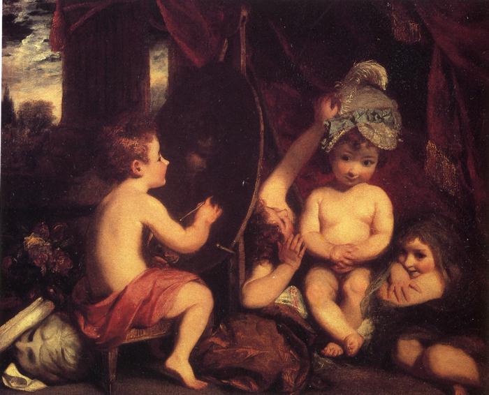 The Infant Academy, 1782 - Joshua Reynolds