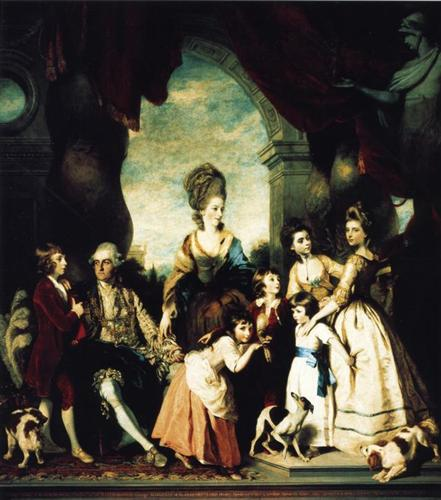 The Marlborough Family - Joshua Reynolds