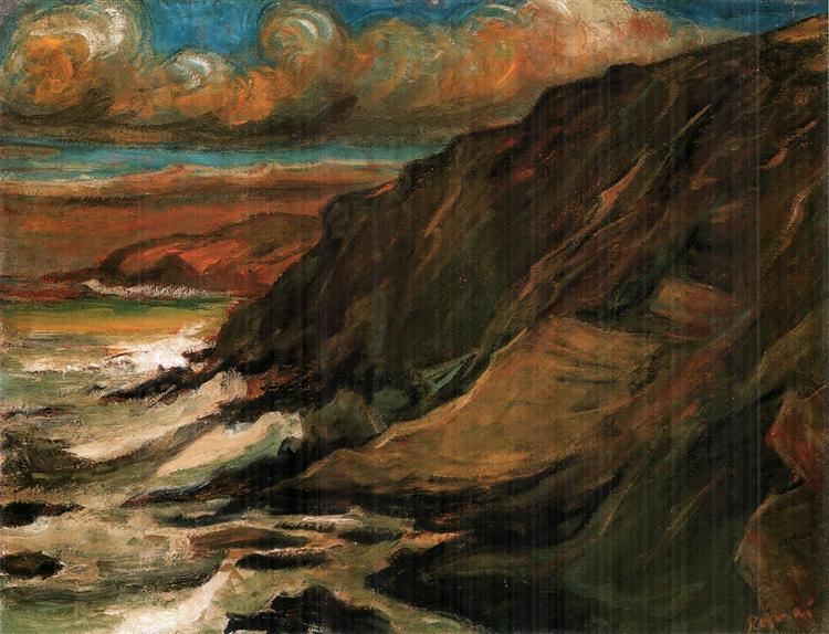 Romantic Landscape, 1899 - Jozsef Rippl-Ronai