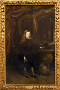 Charles II of Spain - Juan Carreno de Miranda