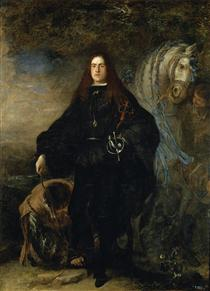 Portrait of the Duke of Pastrana - Juan Carreno de Miranda