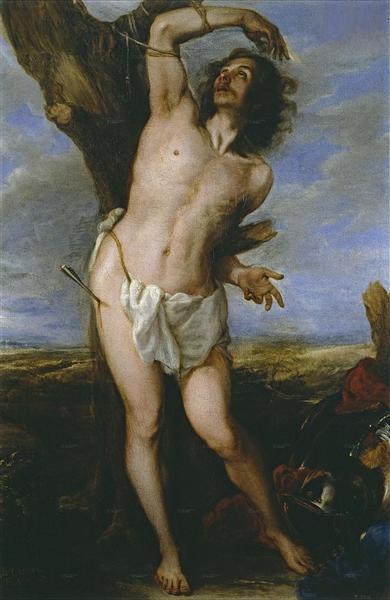 San Sebastián, 1656 - Juan Carreno de Miranda