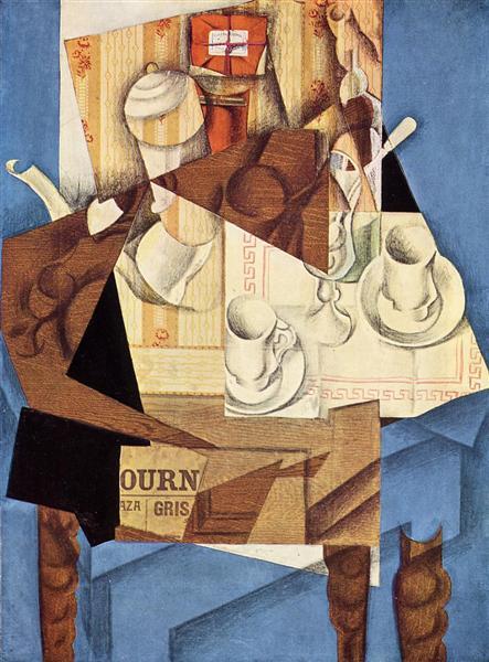 Breakfast, 1914 - Juan Gris