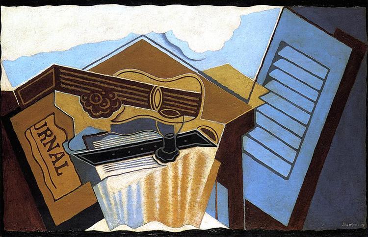 The Cloud, 1921 - Хуан Грис