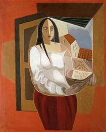 The Reader - Juan Gris