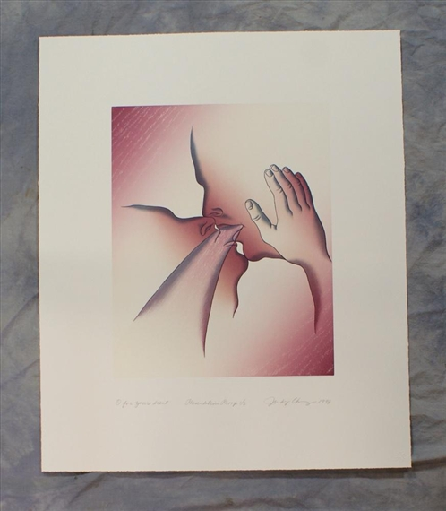 O For Your Scent, 1998 - Judy Chicago
