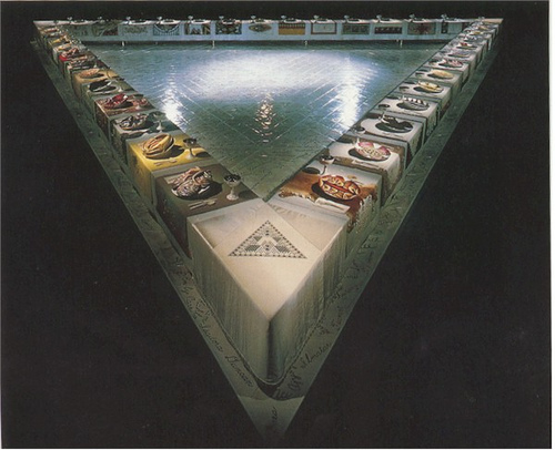 The Dinner Party, 1979 - Judy Chicago