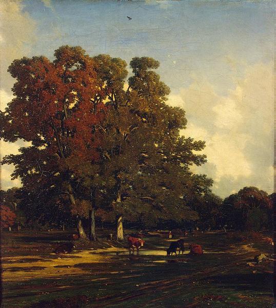 Autumn Landscape, 1850 - Jules Dupre