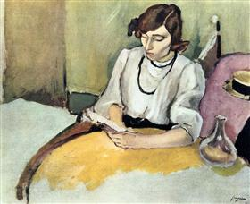 Portrait of Hermine David - Jules Pascin