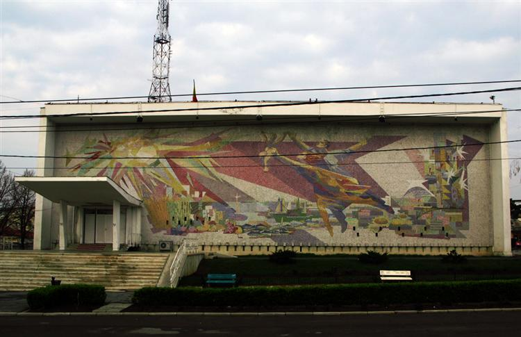 Genesis (Mural for the House of Culture in Mangalia) - Jules Perahim
