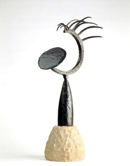 Tête au miroir, 1934 - Julio Gonzalez