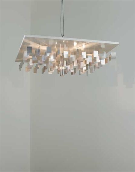 continuel lumi re au plafond galassia ceiling light 1963 julio le parc. Black Bedroom Furniture Sets. Home Design Ideas