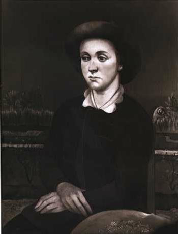Bildnis Lisbeth Bissier, 1925 - Julius Bissier