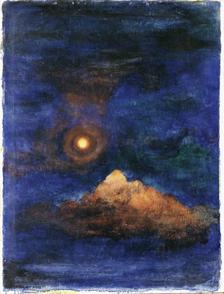 Concepimento nel cosmo, 1920 - Юлиус Биссье