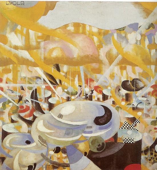Five o'clock tea, 1917 - Julius Evola