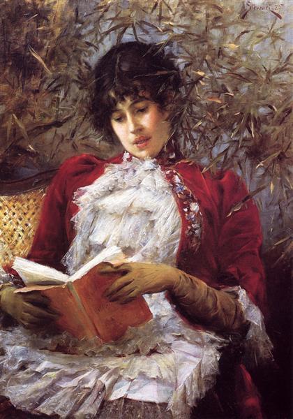 An Enthralling Novel, 1885 - Julius LeBlanc Stewart