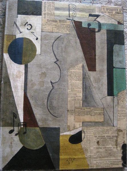 Music, 1922 - Georges Annenkov