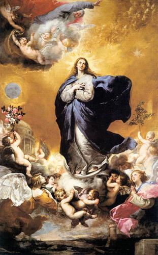 Immaculate Conception - Jusepe de Ribera