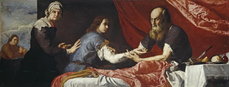 Isaac Blessing Jacob - Jusepe de Ribera