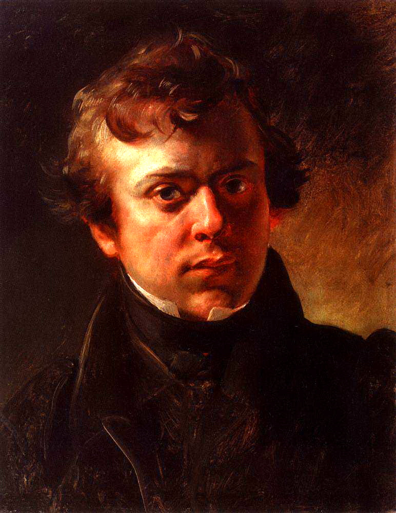 Portrait of the architect A. Gornostaev, 1828