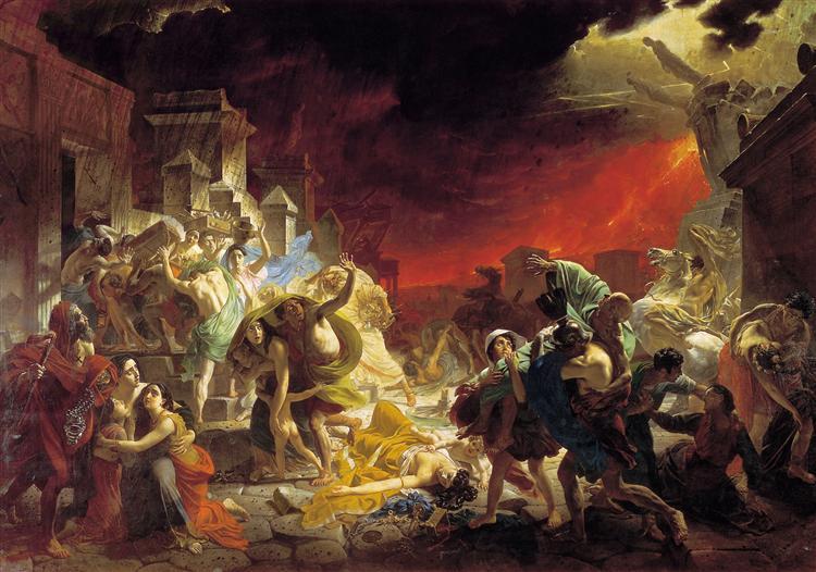 Останній день Помпеї - Карл Брюллов