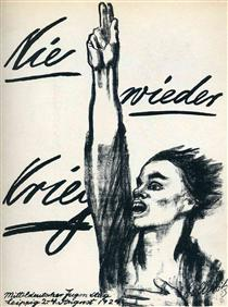 Never Again War - Kathe Kollwitz