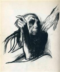 Call of Death - Kathe Kollwitz