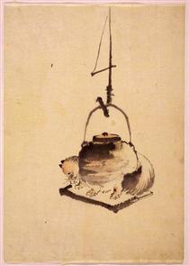 Tanuki - Katsushika Hokusai