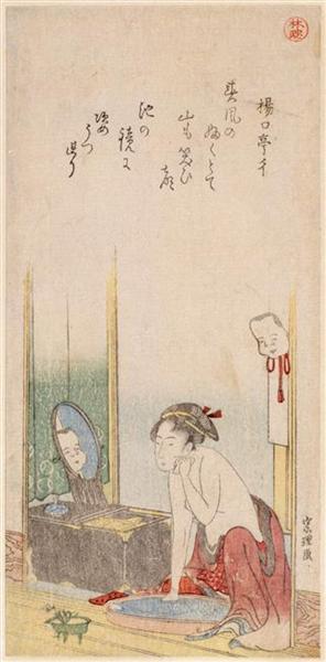 Woman - Katsushika Hokusai - WikiArt.org Hokusai Woman