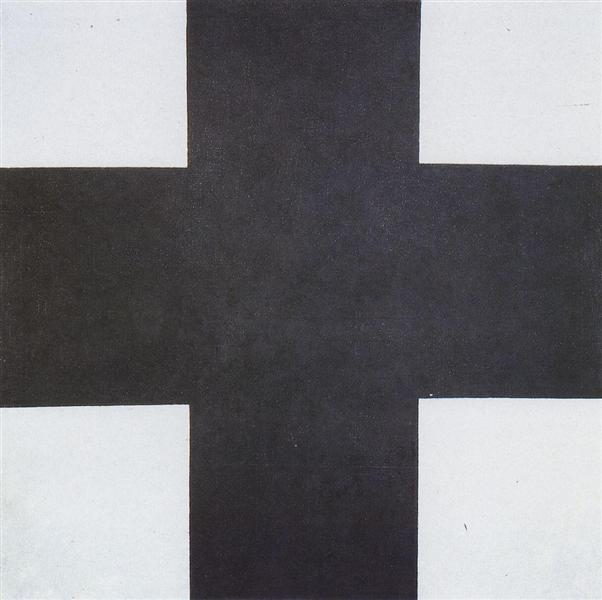 Black Cross, 1923 - Kazimir Malevich