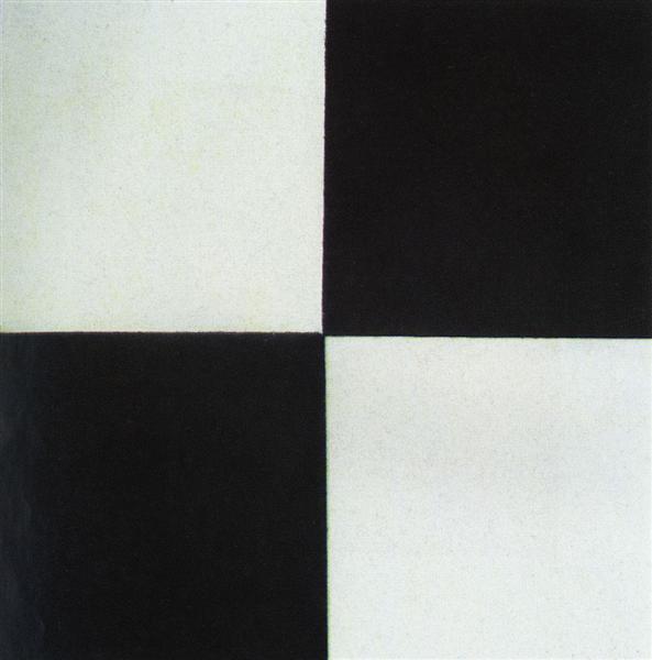 Four square, 1915 - Kazimir Malevich