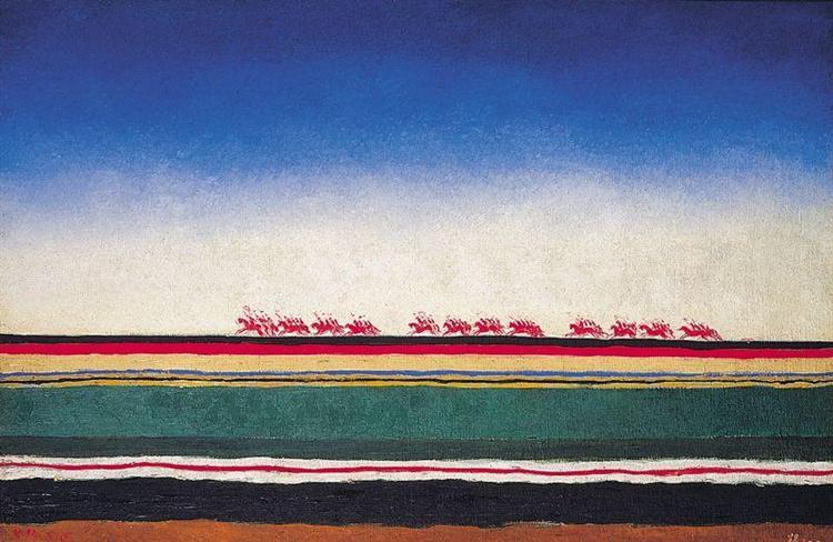 Red Cavalry, 1932 - Kazimir Malevich