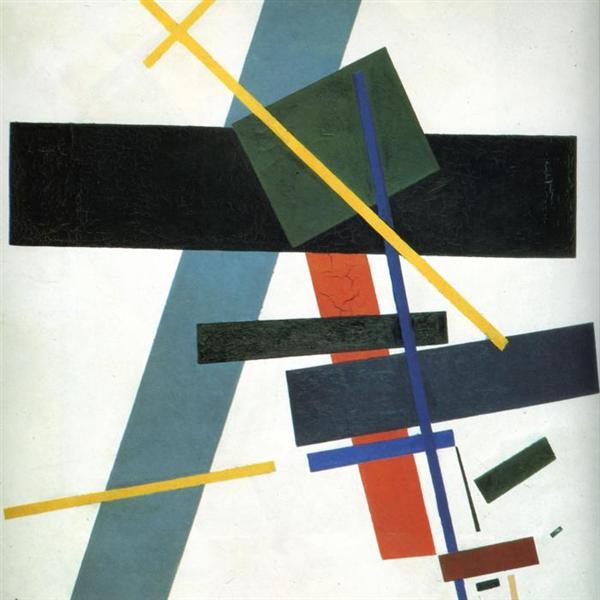 Suprematism, 1916 - Kazimir Malevich