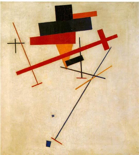 Suprematist Painting, 1916 - Kasimir Sewerinowitsch Malewitsch