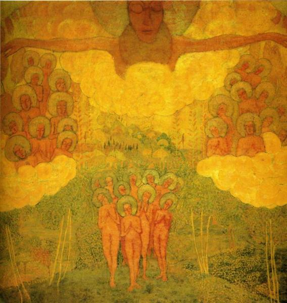 Triumph of the Skies - Kazimir Malevich