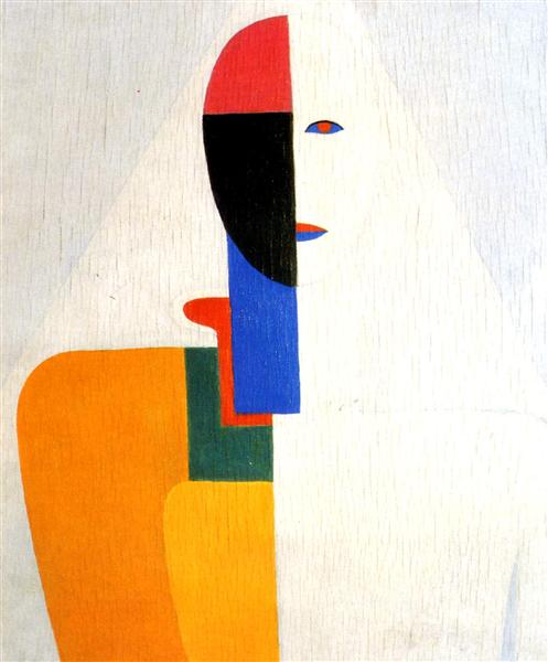 Woman Torso, 1932 - Kasimir Malevitch