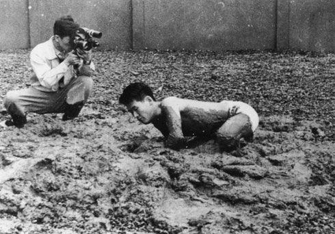 Challenging Mud, 1955 - Kazuo Shiraga