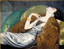 Woman on Sofa - Kees van Dongen