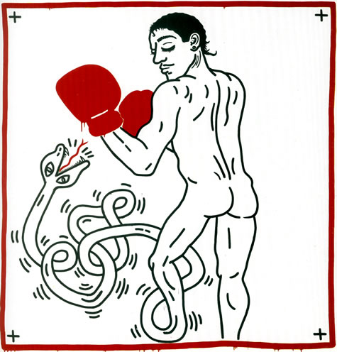 Portrait of Macho Camacho, 1985 - Keith Haring