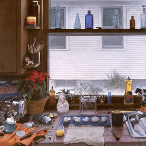 Kitchen Counter Ii Dirty Dishes Ii Kent Bellows Encyclopedia Of Visual Arts