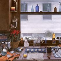 Kitchen Counter II (Dirty Dishes II) - Kent Bellows