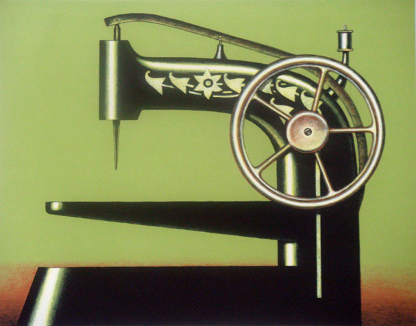 L'impatience du Sphinx, 2004 - Konrad Klapheck