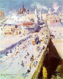 Old Moscow - Konstantin Korovin