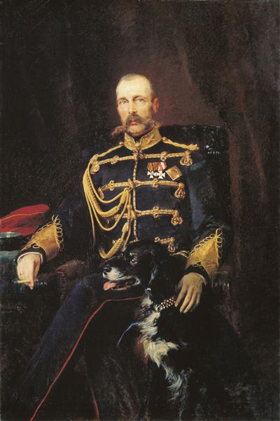 Alexander II of Russia, 1881 - Konstantin Makovsky
