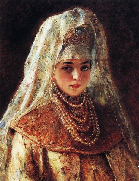 Боярышня - Константин Маковский