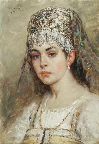 Boyaryshnya, c.1880 - Konstantin Makovsky