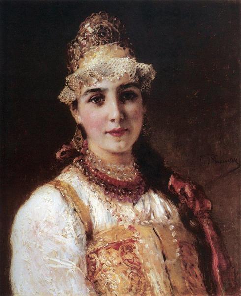 Boyaryshnya, c.1890 - Konstantin Makovsky
