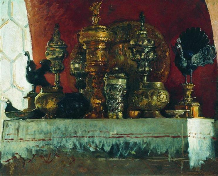 Cups, 1883 - Konstantin Makovsky