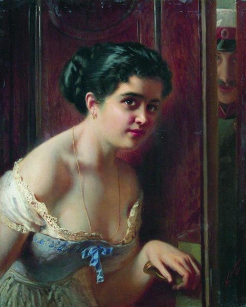 Date, 1866 - Konstantin Makovsky
